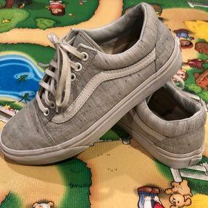 Vans Retro Gray Lace Sneakers Size 8 (Women)